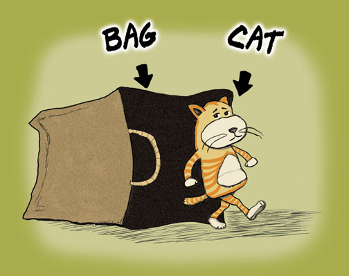 cats out of the bag