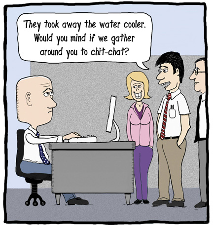 Image result for water cooler chat funny