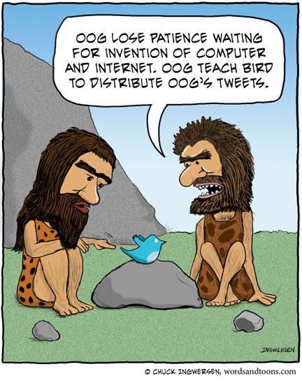 caveman-tweets